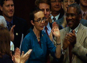 Gabrielle Giffords Returns to Congress