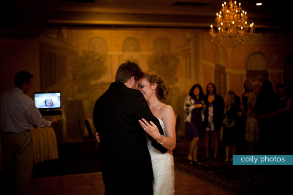 Terminally-ill Mother Watches Married Daughter's First Dance Via Skype