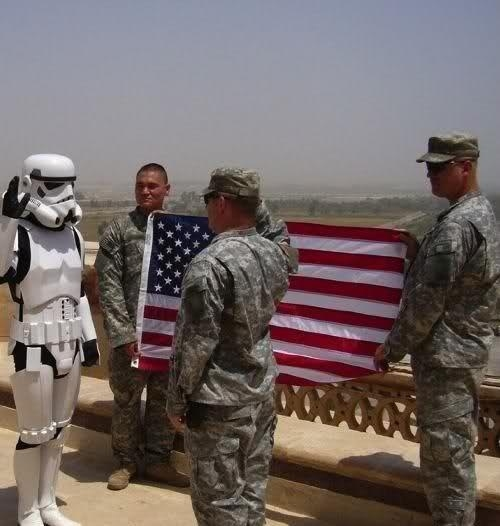 U.S. Military Hands Over Responsibilities To Imperial Forces