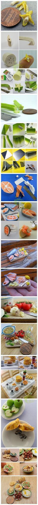 The Cutest Miniature Food