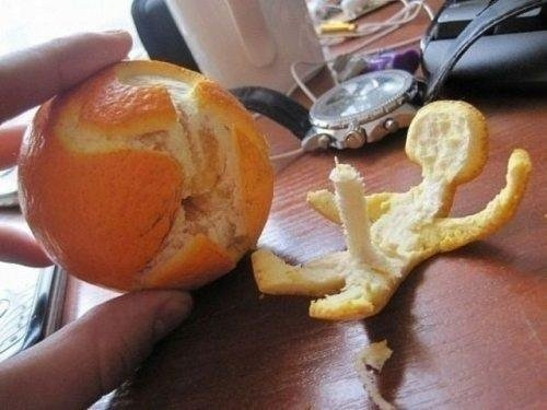The Best Way To Peel An Orange