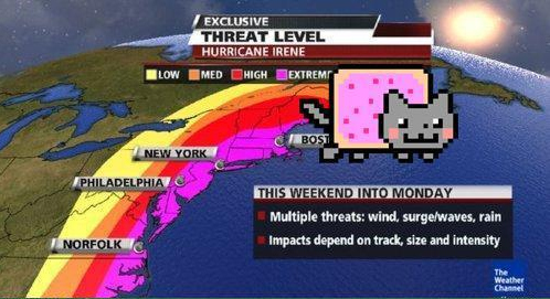 Hurricane Nyan Cat