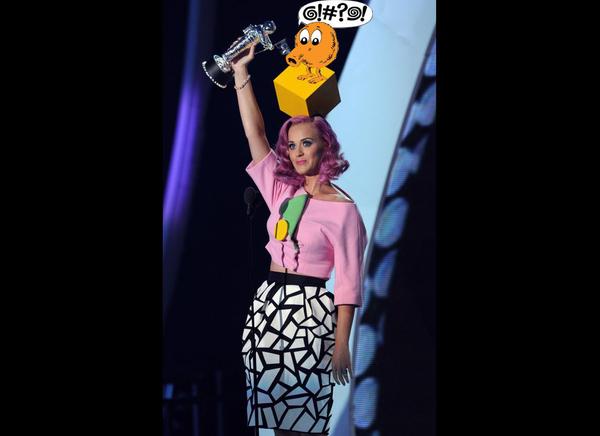 Nice Hat, Katy.