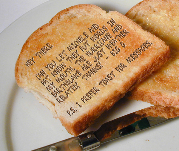 Divine Toast Message.