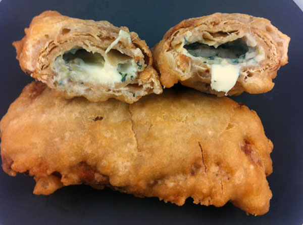 Beer Battered Deep Fried Lean Pockets