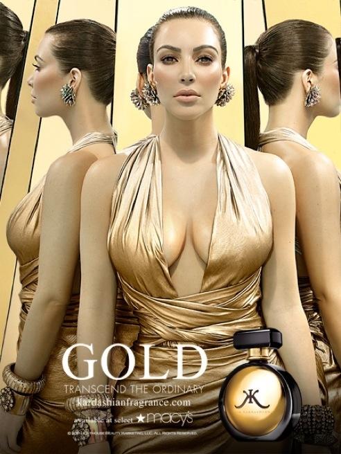 Kim Kardashian's Golden Fragrance