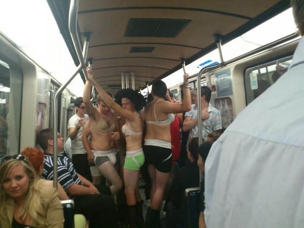 Welcome To Frosh Week In Montreal