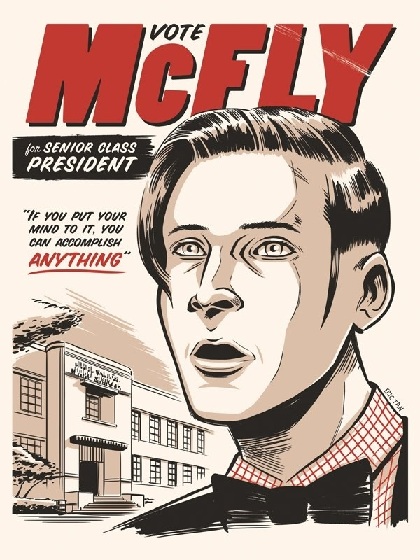 Vote George McFly For Senior Class President