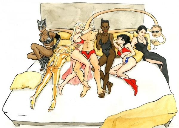 Batman And Ladies Inc.