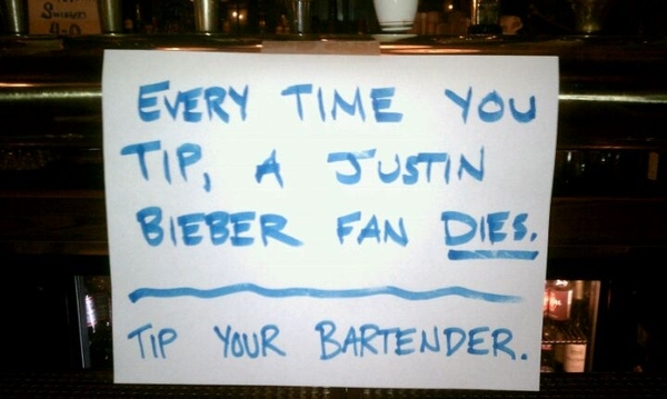 Tip Your Bartender