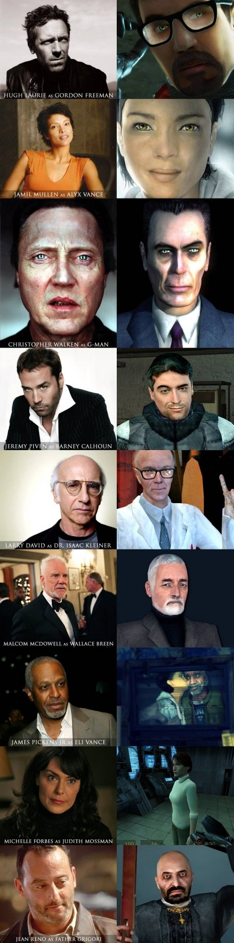 If Half-Life Was a Movie Would This Be the Cast?