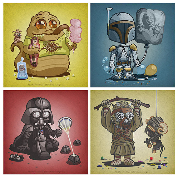 Star Wars Kid Baddies