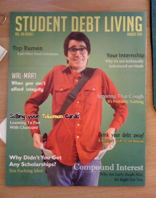 Student Debt Living Magazine