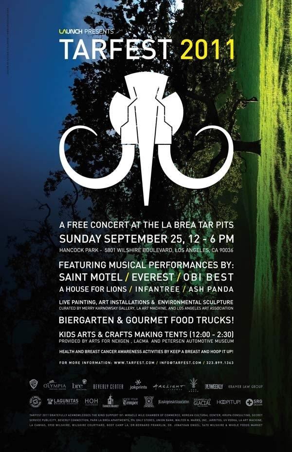 TARFEST 9/25/11 FREE INDIE Event in LA