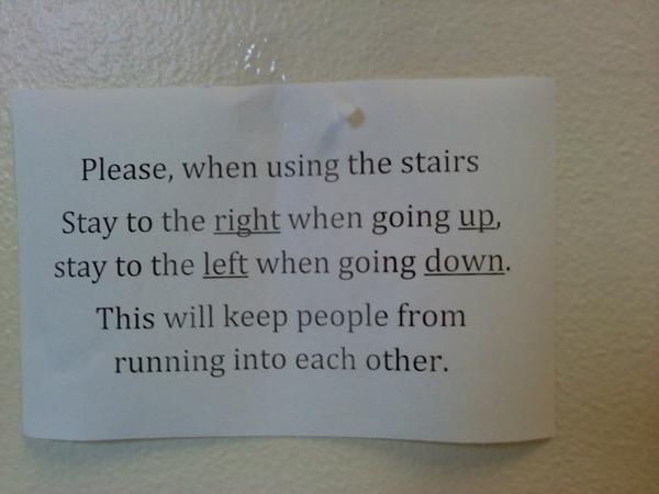 High School Safety Notice