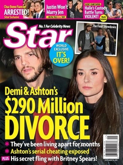 Demi Moore & Ashton Kutcher Allegedly Getting Divorce