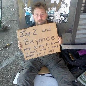 Clever Homeless Guy