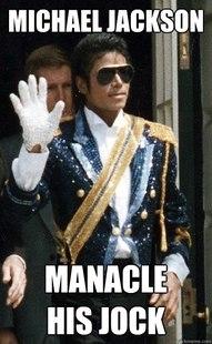 Historic Anagrams Meme: Michael Jackson
