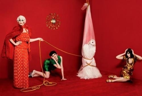 100 Fashion Photographs by Sebastian Faena