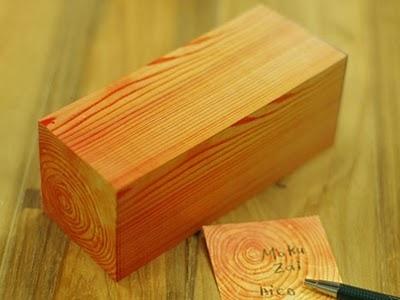 Woodgrain Post-it Notes