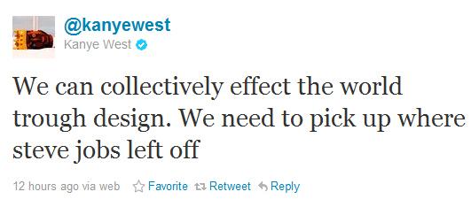 Kanye West Picking Up After Steve Jobs?