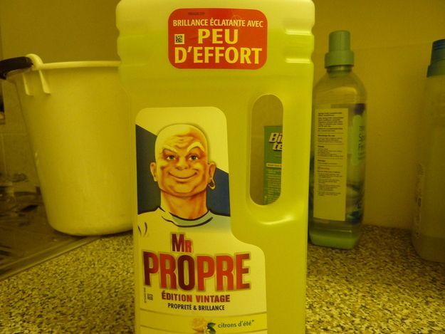 French Mr Clean....just a Little Scary
