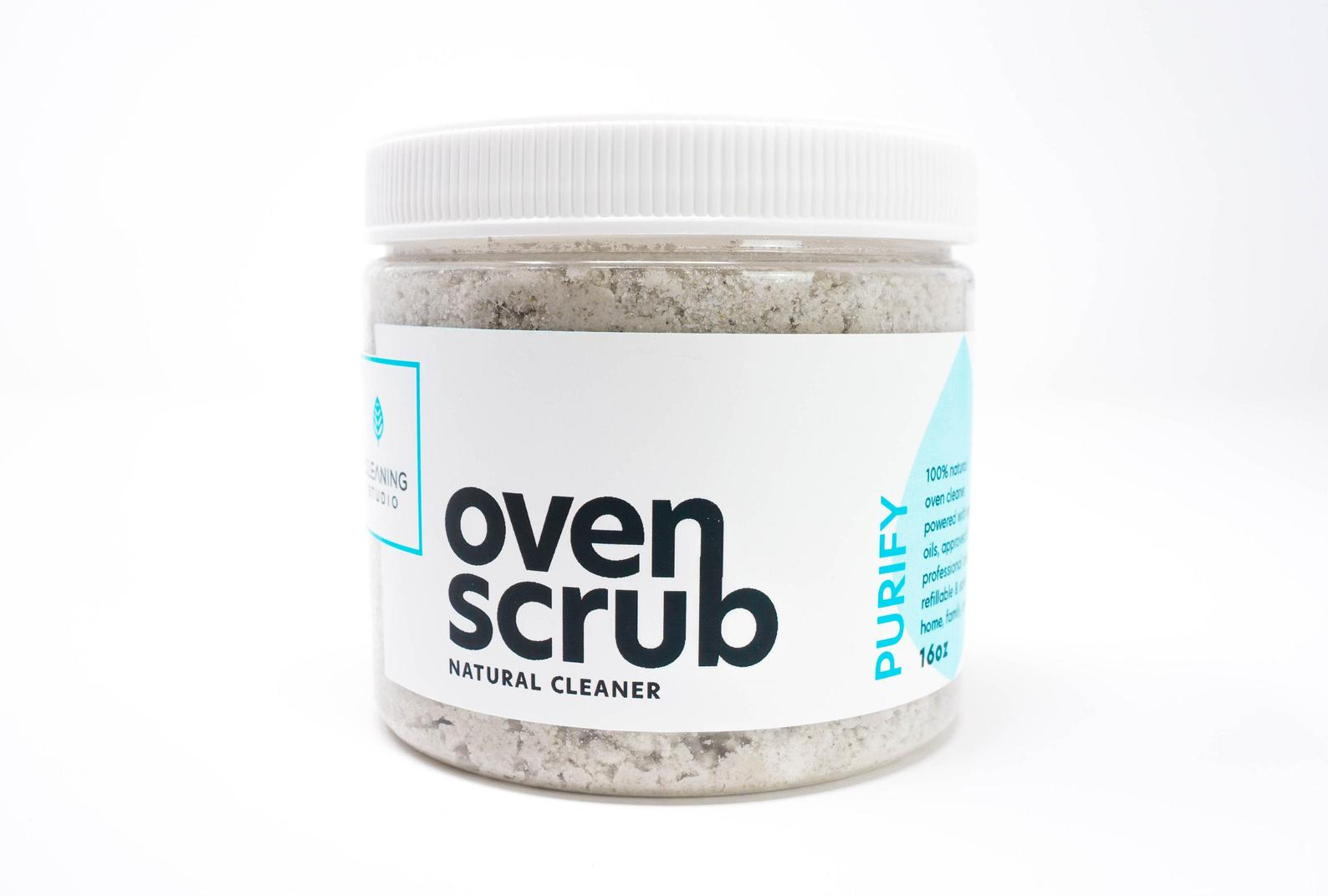 tub of oven scrub natural cleaner