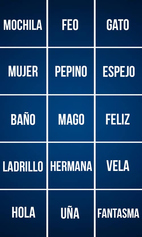 Groovy Here Are 15 English Words Can You Translate Them Into Spanish Download Free Architecture Designs Embacsunscenecom
