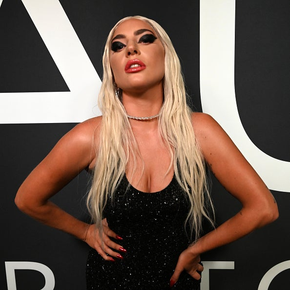Lady GaGa attends the launch of Haus Laboratories.