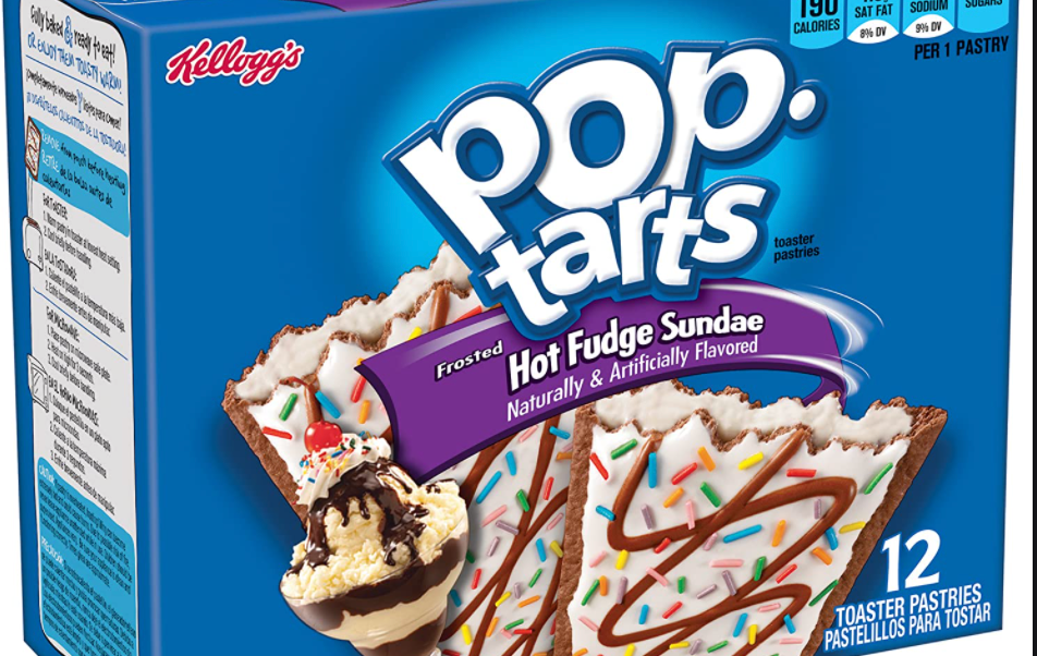 A box of pop tarts