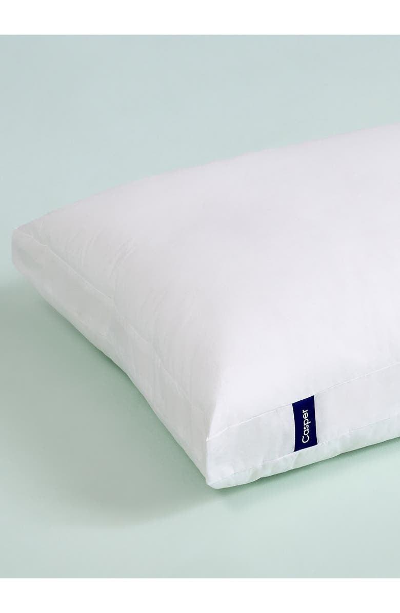 the white pillow
