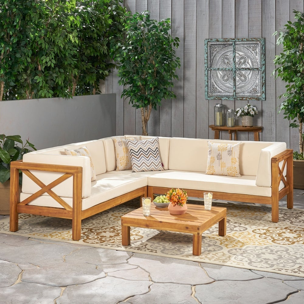 sectional styled outside