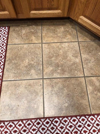 the same grout all clean