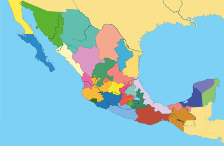 Quiz: Can You Locate These Major Cities In Mexico On A Map? on map mexico vacation spots, map major cities germany, map major cities spain, map major cities europe, map major cities egypt, map mountains in mexico, map major cities malaysia, map major cities china, map major cities canada, map states in mexico, map agriculture in mexico, map of mexico states and cities, map major cities russia, map of mexico country, map municipalities in mexico,