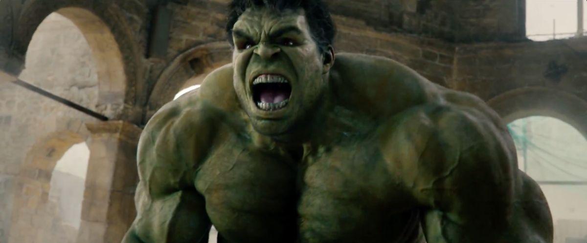 Hulk yells