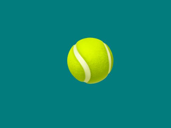 a tennis ball emoji