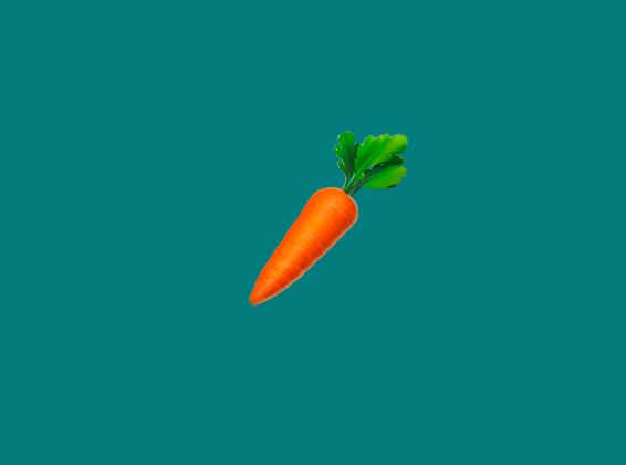 a carrot emoji