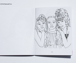 TLC coloring page