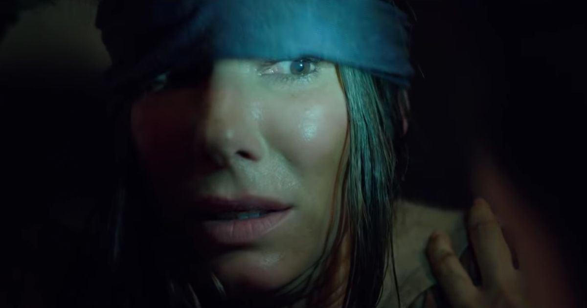 """Sandra Bullock as Malorie in """"Birdbox"""""""