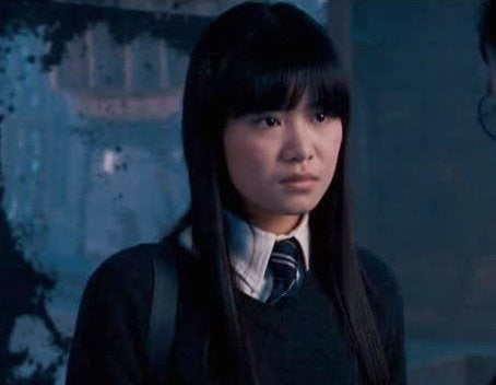 Cho Chang looks determined