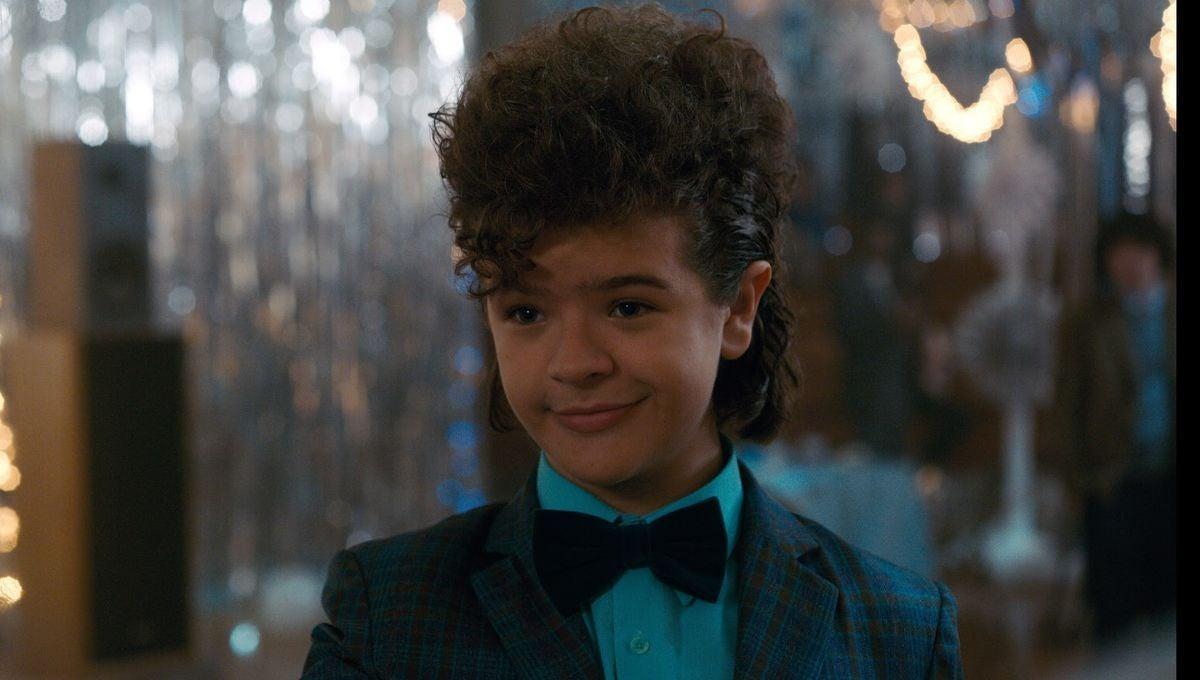 "Gaten Matarazzo as Dustin in ""Stranger Things"""