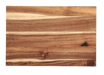 A wooden board