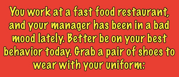 best fast food place work
