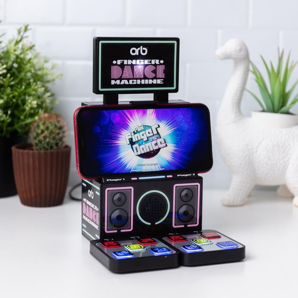 a tiny version of the classic DDR game meant to be played with your fingers