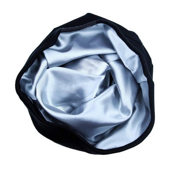 product image of the silk interior of the Slap