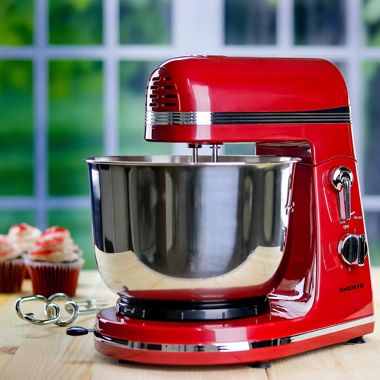 A red mixer