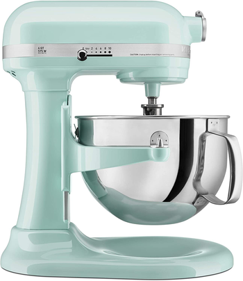the mint green mixer