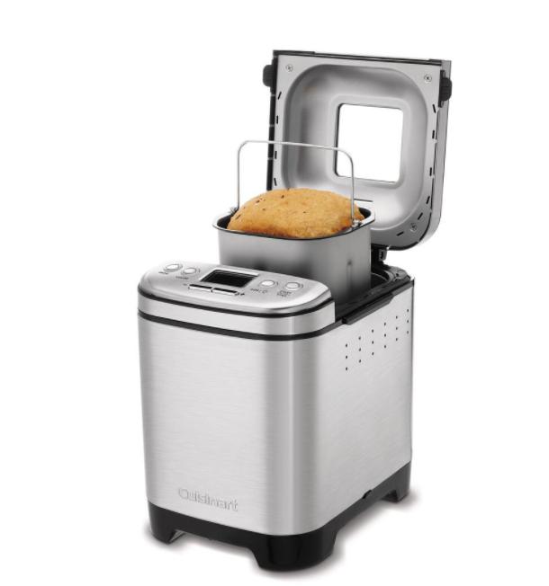 Bread in a metallic bread maker