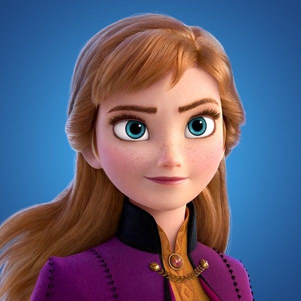 Anna looks determined