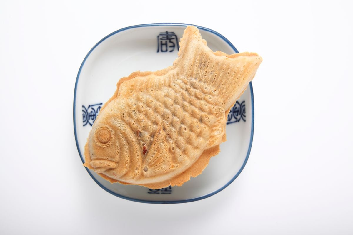 A fish-shaped pastry